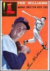 1954 Topps Ted Williams - Teddy Ballgame - the greatest hitter ever, and an American hero.